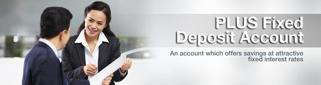 PLUS Fixed Deposit Account