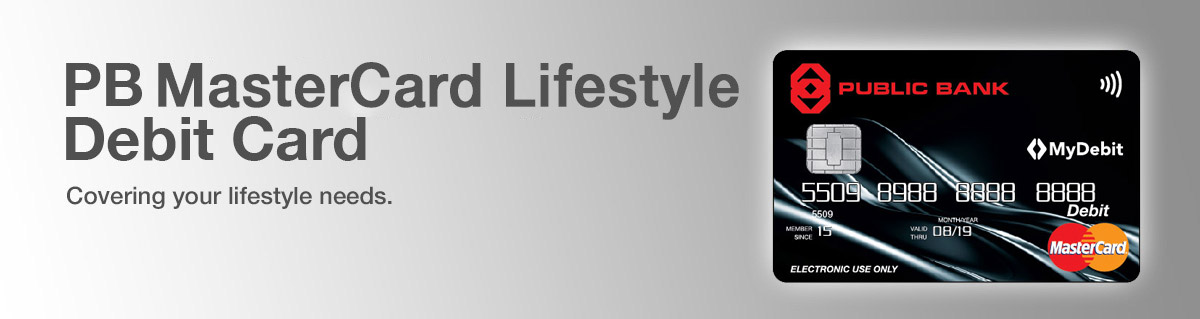 PB MasterCard Lifestyle Debit Card
