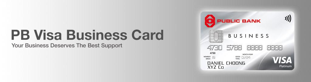 Public bank berhad pb visa business card colourmoves