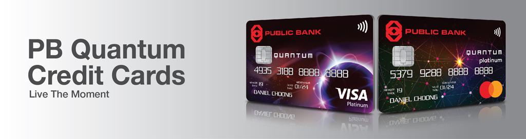 Public Bank Berhad - PB Quantum Credit Cards