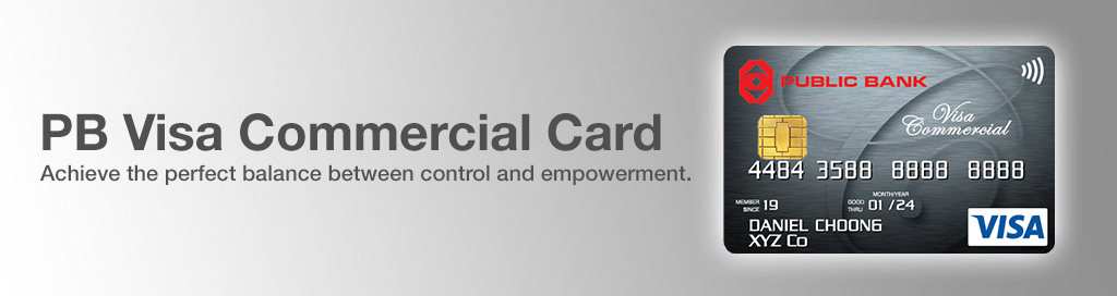PB Visa Commercial Card