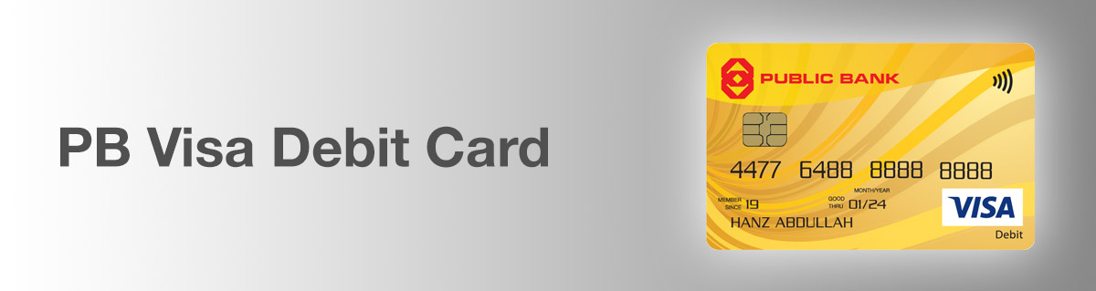PB Visa Debit Card
