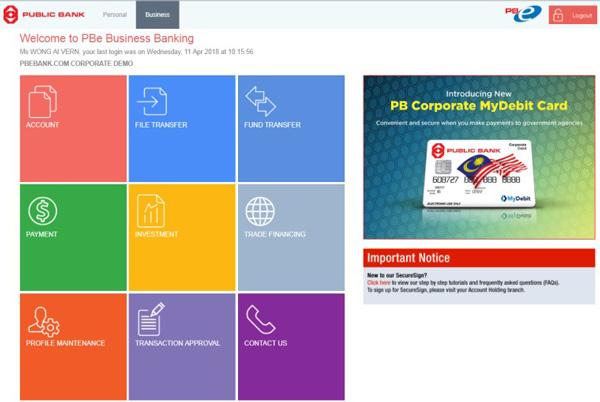 Public Bank Berhad About Pb Enterprise
