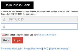 Public Bank Internet Banking Eclubstore